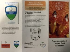 Bayer Termite Barrier Accreditation