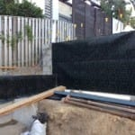 Retaining walls protected by termite protection company