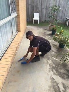 Termite Barrier - Drill Concrete