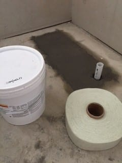 termite barrier pipe relocation set up