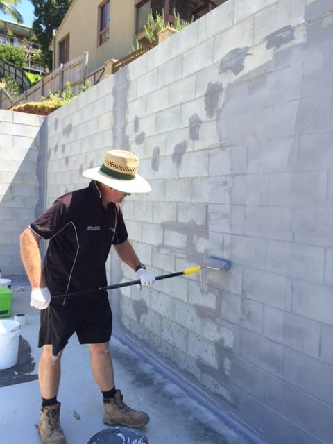 Termite protection using Termseal multi purpose